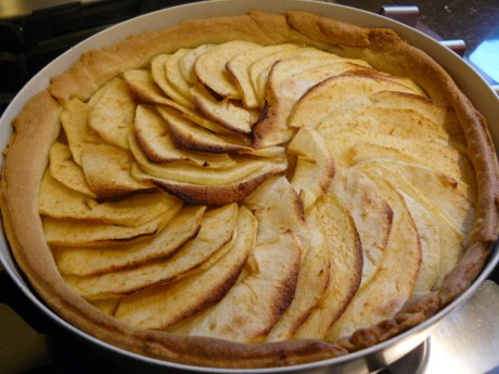 baked apple tart