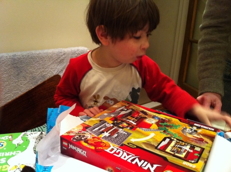 Lego Ninjago birthday boy