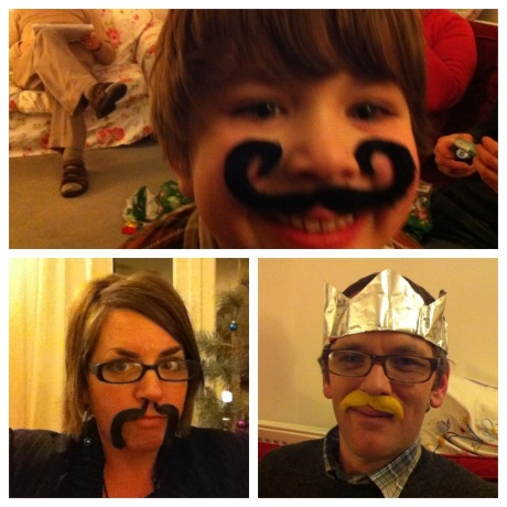 pass the parcel moustache