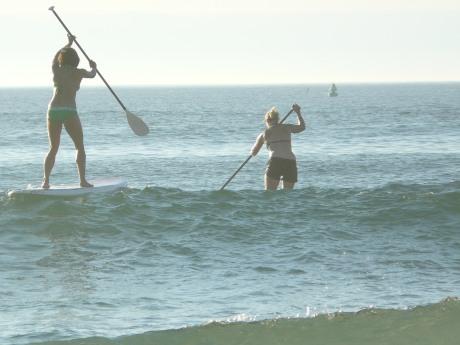 Paddle balance