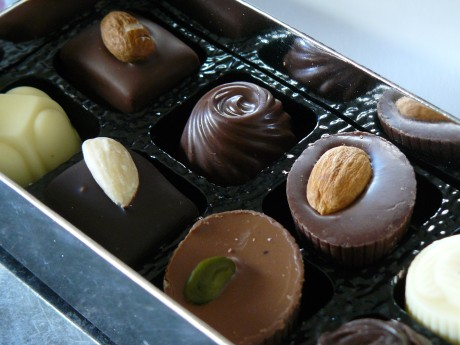 close up chocolate